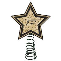 Purdue Boilermakers Mosaic Christmas Tree Topper