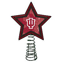 Indiana Hoosiers Mosaic Christmas Tree Topper