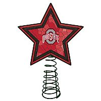 Ohio State Buckeyes Mosaic Christmas Tree Topper
