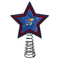 Kansas Jayhawks Mosaic Christmas Tree Topper