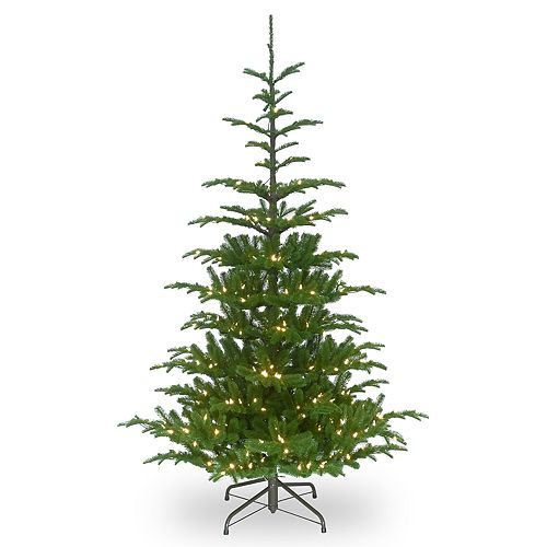National Tree Company 7.5-ft. Pre-Lit Norwegian Spruce Artificial Christmas Tree