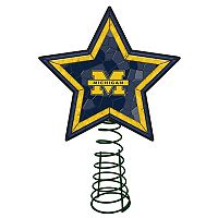Michigan Wolverines Mosaic Christmas Tree Topper