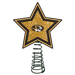 Missouri Tigers Mosaic Christmas Tree Topper