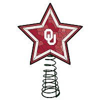 Oklahoma Sooners Mosaic Christmas Tree Topper