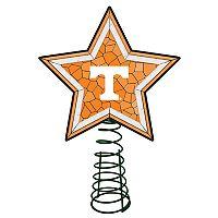 Tennessee Volunteers Mosaic Christmas Tree Topper