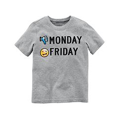 Boys 4-8 Carter's 'Monday Friday' Graphic Tee
