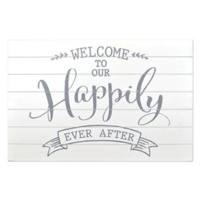 """Sheffield Home """"Happily Ever After"""" Wedding Table Decor"""