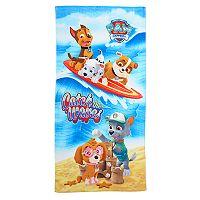 Paw Patrol Catch The Waves Beach Towel