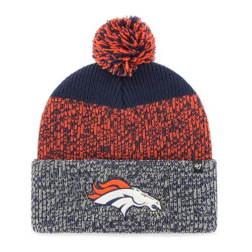 Adult '47 Brand Denver Broncos Static Beanie