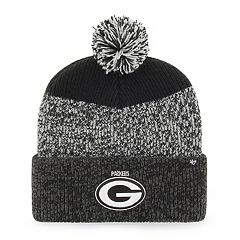 873599db27 Adult  47 Brand Green Bay Packers Static Cuff Knit Hat