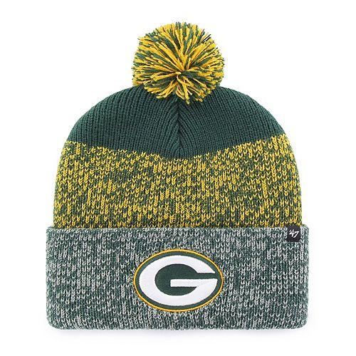 Adult '47 Brand Green Bay Packers Static Beanie
