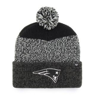 Adult '47 Brand New England Patriots Static Cuff Knit Hat
