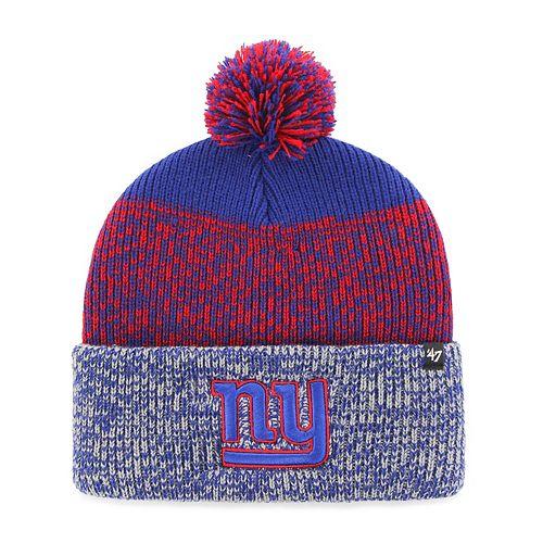 Adult '47 Brand New York Giants Static Beanie