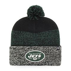 Adult '47 Brand New York Jets Static Cuff Knit Hat