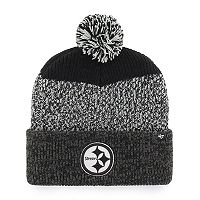 Adult '47 Brand Pittsburgh Steelers Static Cuff Knit Hat