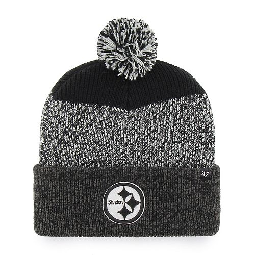 Adult '47 Brand Pittsburgh Steelers Static Beanie