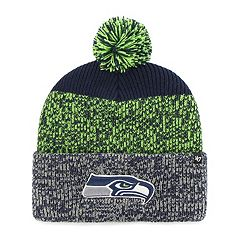 Adult '47 Brand Seattle Seahawks Static Cuff Knit Hat