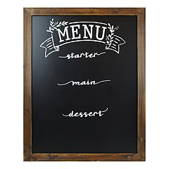 Sheffield Home 'Menu' Chalkboard Wedding Table Decor
