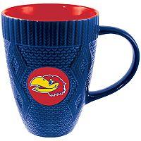 Kansas Jayhawks Sweater Coffee Mug