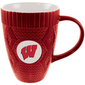Wisconsin Badgers Sweater Coffee Mug