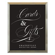Sheffield Home 'Cards & Gifts' Wedding Wall Decor