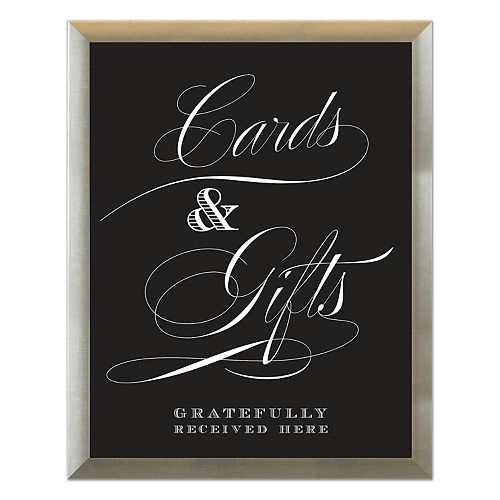 """Sheffield Home """"Cards & Gifts"""" Wedding Wall Decor"""