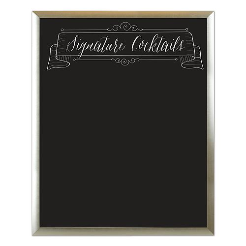 "Sheffield Home ""Signature Cocktails"" Chalkboard Wedding Wall Decor"