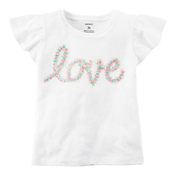 Toddler Girl Carter's Love Graphic Tee