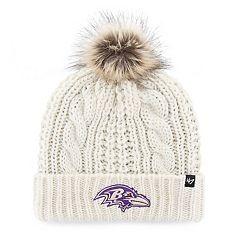 Women's '47 Brand Baltimore Ravens Meeko Cuffed Knit Hat