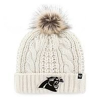 Women's '47 Brand Carolina Panthers Meeko Cuffed Knit Hat
