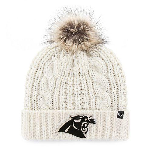 Women s  47 Brand Carolina Panthers Meeko Cuffed Knit Hat b9e8ce7071