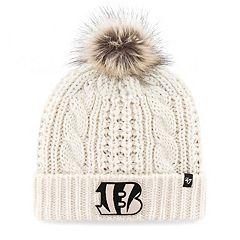 Women's '47 Brand Cincinnati Bengals Meeko Cuffed Knit Hat