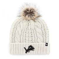 Women's '47 Brand Detroit Lions Meeko Cuffed Knit Hat