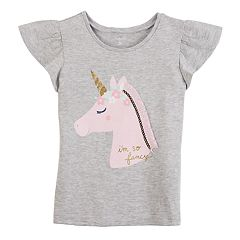 Toddler Girl Carter's Unicorn Flutter Tee