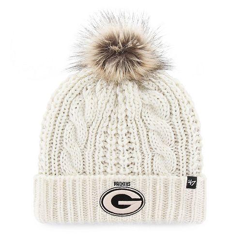 2ad6dd7cdae Women s  47 Brand Green Bay Packers Meeko Cuffed Knit Hat