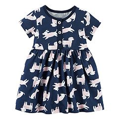 Baby Girl Carter's Dog Print Dress