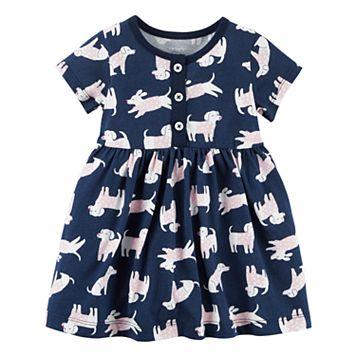 Baby Girl Carter's Dog Print Dress