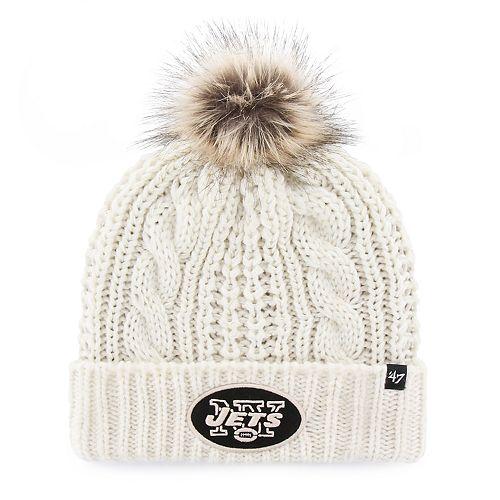Women s  47 Brand New York Jets Meeko Cuffed Knit Hat ebcd13d2e8