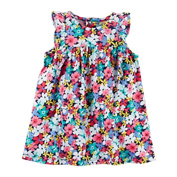 Baby Girl Carter's Multi-Colored Floral Dress