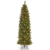 National Tree Company 9-ft. Pre-Lit Tacoma Pine Slim Artificial Christmas Tree