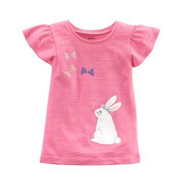 Toddler Girl Carter's Bunny Graphic Tee