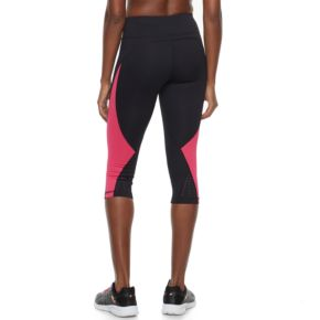 Women's FILA SPORT® Color Block Capri Leggings