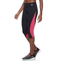 Women's FILA SPORT® Color Block Capri Leggings