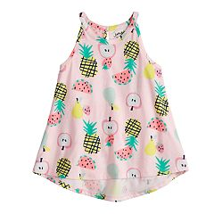 Girls 4-10 Jumping Beans® Graphic Swing Tank Top