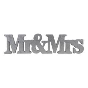 "Sheffield Home ""Mr. & Mrs."" Wedding Table Decor"