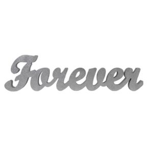 "Sheffield Home ""Forever"" Block Letter Table Decor"