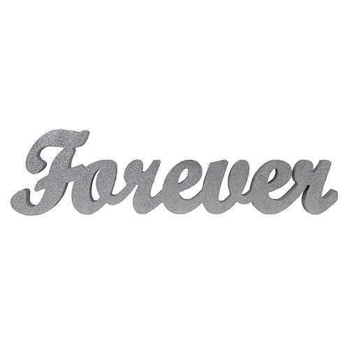 """Sheffield Home """"Forever"""" Block Letter Table Decor"""