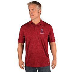 Men's Majestic Los Angeles Angels of Anaheim Targeting Polo