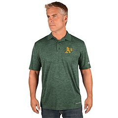 Men's Majestic Oakland Athletics Targeting Polo