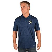 Men's Majestic Milwaukee Brewers Targeting Polo